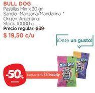 Oferta de Pastillas Mix x 30 gr. BULL DOG  por $19,5
