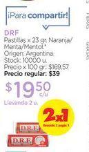 Oferta de DRFPastillas x 23 gr. por $19,5