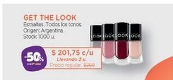 Oferta de GET THE LOOKEsmaltes. por $201,75