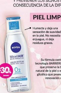 Oferta de NIVEAAgua Micelar Limpiadora piel normal x 200 ml. por $305,2