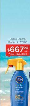 Oferta de NIVEA SUNProtector Solar Kids Protect & Play FPS 60+ x 300 Ml. por $667,2