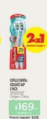 Oferta de COLGATECepillo Soft x 2 u. por $169