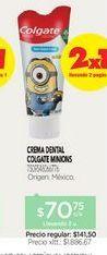 Oferta de COLGATECrema Dental Smile Minion x 75 ml por $70,75