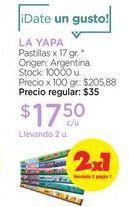 Oferta de LA YAPAPastillas x 17 gr. por $17,5