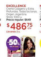 Oferta de EXCELLENCECreme Colageno y Extra Profundos. por $486,75