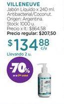 Oferta de VILLENEUVEJabón Líquido x 240 ml. por $134,88