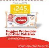 Oferta de HUGGIESToallas Húmedas Oleo Calcareo x 48 u. por $245