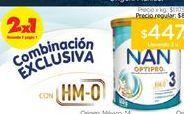 Oferta de NAN 3Leche Infantil Optipro en Polvo X 800 Gr. por $447