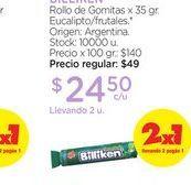 Oferta de BILLIKENRollo de Gomitas x 35 gr. por $24,5