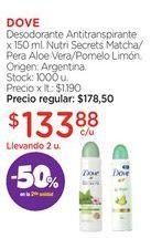 Oferta de DOVEDesodorante Antitranspirante x 150 ml. por $133,88