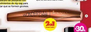 Oferta de RIMMELMáscara Wonderfull con óleo de argán Black x 26 gr. por $1127