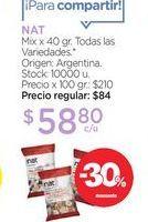 Oferta de NATMix x 40 gr. por $58,8