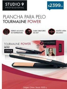 Oferta de STUDIO 9 PROFESSIONALPlanchita De Ceramica Tourmaline por $2399