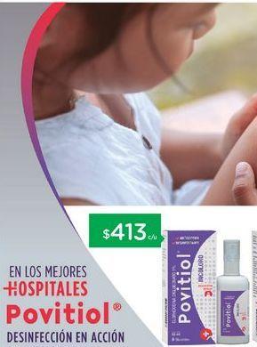 Oferta de POVITIOLAnticeptico Iodopovidona X 60 Ml. por $413