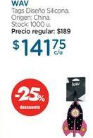 Oferta de WAVTags Diseño Silicona. por $141,75