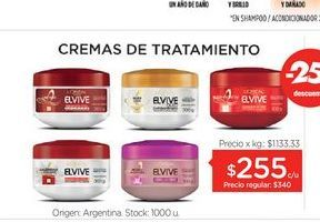 Oferta de ELVIVECrema Tratamiento x 300 Gr. por $255