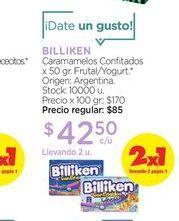 Oferta de BILLIKENCaramamelos Confitados x 50 gr. por $42,5