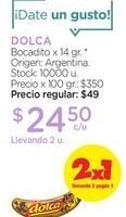 Oferta de DOLCABocadito x 14 gr. por $24,5