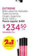 Oferta de EXTREMEBrillo Labial Con Aplicador. por $234,5