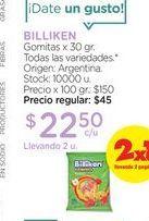 Oferta de BILLIKENGomitas x 30 gr. por $22,5