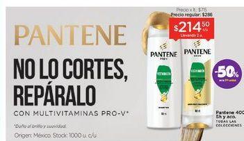 Oferta de PANTENEShampoo y Acondicionador Max Pro-V x 400 Ml. por $214,5