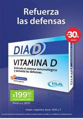 Oferta de DIA DSuplemento DietarioX 30 Comp por $199,5