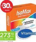 Oferta de ISAMAXSuplemento Dietario Multivitaminas X 30 Comp. por $273,7