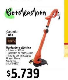 Oferta de Desmalezadora eléctrica B&D por $5739