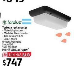 Oferta de Tortuga rectangular por $747