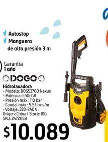Oferta de Hidrolavadora Dogo por $10089