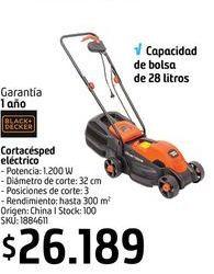 Oferta de Cortacésped eléctrico B&D por $26189