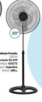 Oferta de Ventilador 20''  Protalia 100w  por $5499