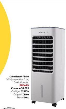 Oferta de Climatizador Philco 50w 7lts  por $9899