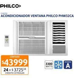 Oferta de ACON VT PHILCO 3300W FS EA PHW32CA3AN por $43999