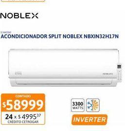 Oferta de Acon Spl Noblex 3300WFC INV NBXIN32H17N por $58999