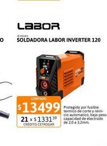 Oferta de Soldad Labor Inverter 120 por $13499
