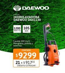 Oferta de Hidrolav Daewoo Dax1130 105 Bar 1200w por $9299