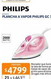 Oferta de Plancha Philips Gc 1022 Vapor Nacional por $4799