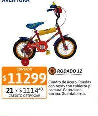 Oferta de Bicic Zambito R12 VIC83CR Aventura nene por $11299
