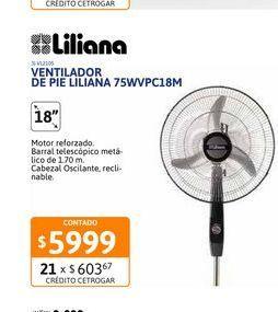 """Oferta de Vent de Pie 18"""" LilianaPar/cro75WVPC18M por $5999"""