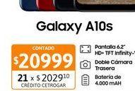 """Oferta de Cel Lib Sams A10s 6,2"""" 2/32 13M Dual Roj por $20999"""