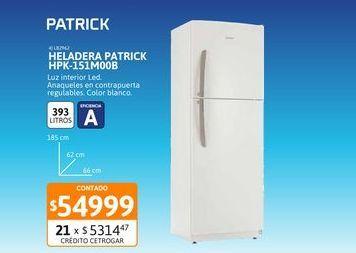 Oferta de Helad Patrick 393L HPK-151M00B BL por $54999