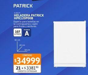 Oferta de Helad Patrick 107Ls HPK120P00B por $34999