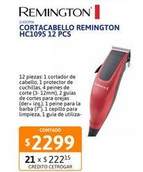 Oferta de Cortac. Remington HC1095 12 pcs por $2299