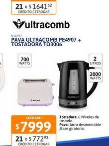 Oferta de Pava Elect Ultracomb PE4907 + Tost TO3006 por $7999
