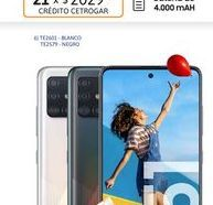 """Oferta de Cel Lib Sams A51 6,5"""" 4/128 48MP Blanco por $45999"""