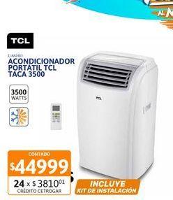 Oferta de Acon Portatil TCL 3500W FC TACA 3500FCSA por $44999