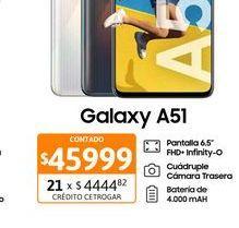 """Oferta de Cel Lib Sams A51 6,5"""" 4/128 48MP Negro por $45999"""
