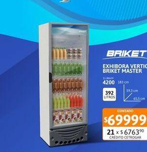 Oferta de Exhib Vert Briket Master 4200 por $69999