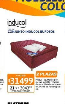 Oferta de Conj Inducol Burd PT1.40granada+2almoArm por $31499